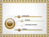Certificate Frame PowerPoint Template#3