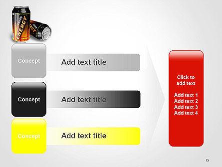 Energy Drink PowerPoint Template Slide 12