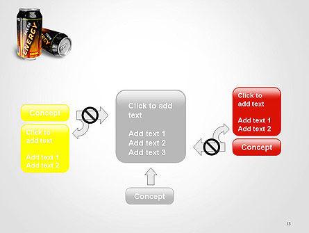 Energy Drink PowerPoint Template Slide 13