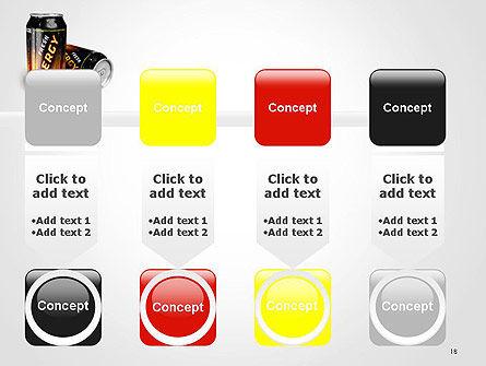 Energy Drink PowerPoint Template Slide 18