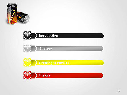Energy Drink PowerPoint Template, Slide 3, 14116, Food & Beverage — PoweredTemplate.com