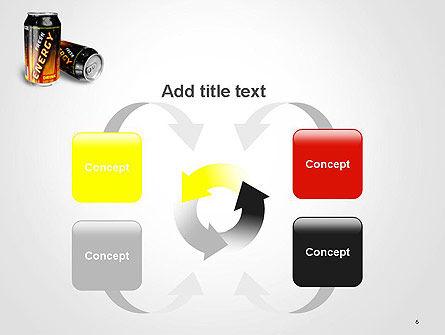Energy Drink PowerPoint Template Slide 6