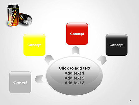 Energy Drink PowerPoint Template Slide 7