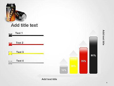 Energy Drink PowerPoint Template Slide 8