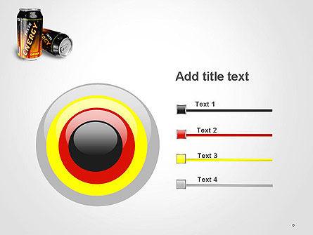 Energy Drink PowerPoint Template Slide 9