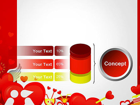 Love Border Frame PowerPoint Template Slide 11