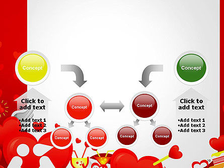 Love Border Frame PowerPoint Template Slide 19
