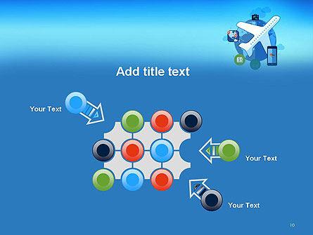 Modern Online Travel PowerPoint Template Slide 10