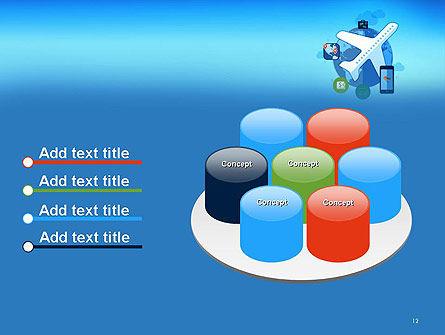 Modern Online Travel PowerPoint Template Slide 12