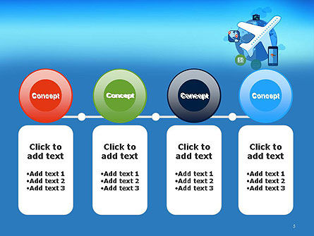 Modern Online Travel PowerPoint Template Slide 5