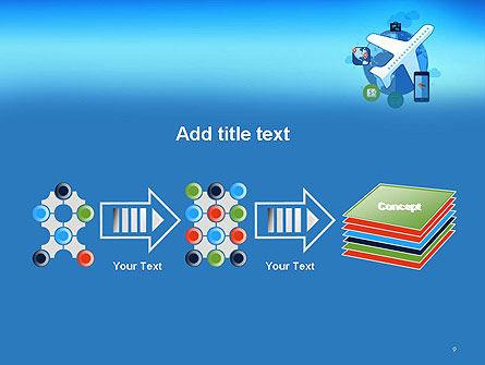 Modern Online Travel PowerPoint Template Slide 9