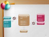 Happy Birthday Balloons PowerPoint Template#13