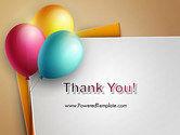 Happy Birthday Balloons PowerPoint Template#20