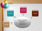 Happy Birthday Balloons PowerPoint Template#7
