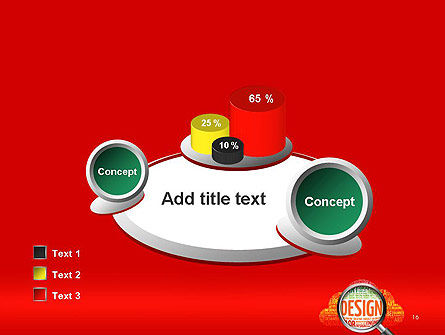 Search for Design PowerPoint Template Slide 16
