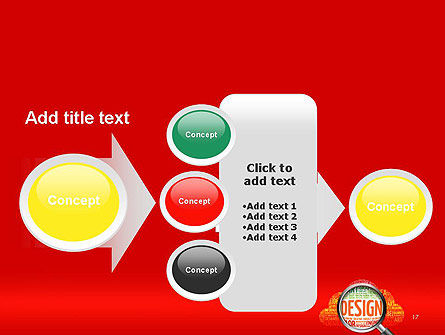 Search for Design PowerPoint Template Slide 17