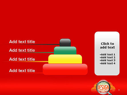 Search for Design PowerPoint Template Slide 8