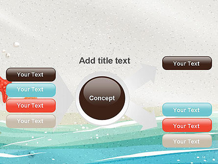 Seacoast PowerPoint Template Slide 14