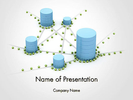 3D: Digital Analytics PowerPoint Template #14125