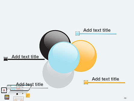 Creating a Web Page PowerPoint Template Slide 10