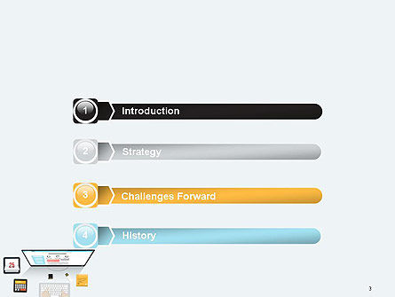 Creating a Web Page PowerPoint Template, Slide 3, 14127, Careers/Industry — PoweredTemplate.com