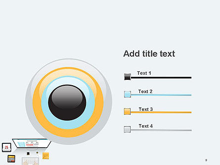 Creating a Web Page PowerPoint Template Slide 9