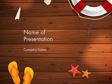 Beach Vacation PowerPoint Template