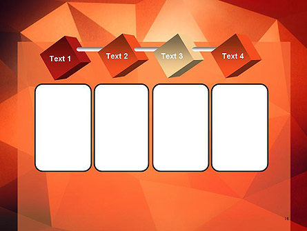 Geometric Polygons Abstract PowerPoint Template Slide 18