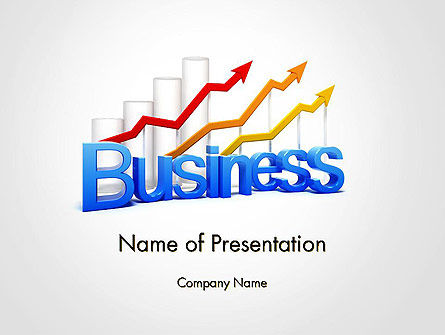 Business Confidence PowerPoint Template, 14134, Consulting — PoweredTemplate.com