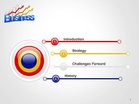 Business Confidence PowerPoint Template, Slide 3, 14134, Consulting — PoweredTemplate.com