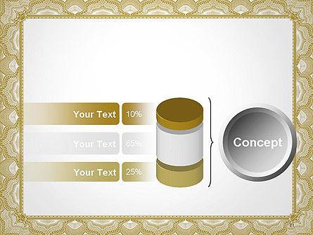 Blank Certificate PowerPoint Template Slide 11