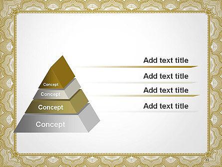 Blank Certificate PowerPoint Template Slide 12
