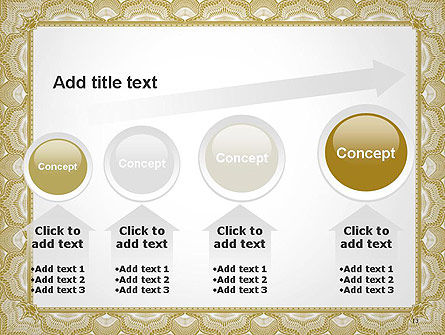 Blank Certificate PowerPoint Template Slide 13
