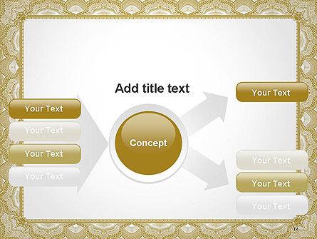 Blank Certificate PowerPoint Template Slide 14