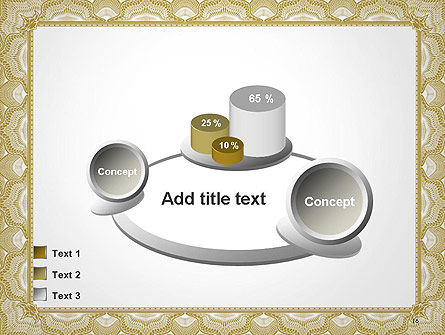 Blank Certificate PowerPoint Template Slide 16
