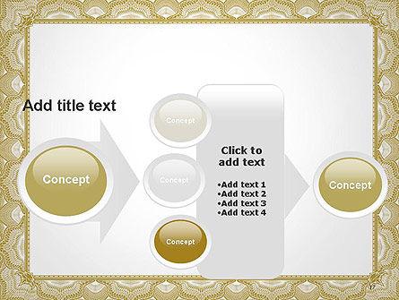 Blank Certificate PowerPoint Template Slide 17