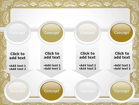 Blank Certificate PowerPoint Template Slide 18