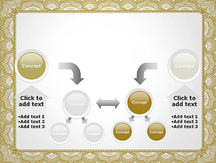 Blank Certificate PowerPoint Template Slide 19