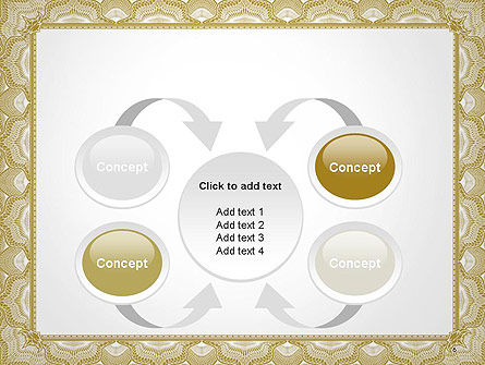 Blank Certificate PowerPoint Template Slide 6