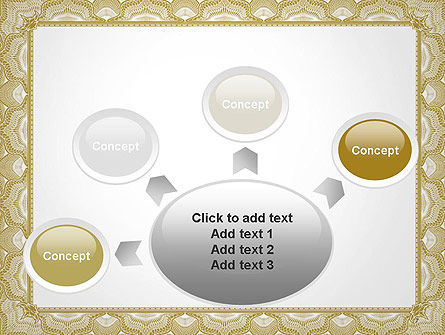 Blank Certificate PowerPoint Template Slide 7