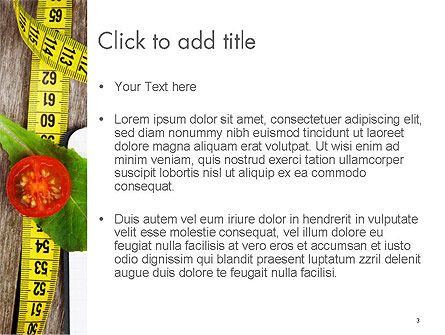 Vegetable Diet PowerPoint Template, Slide 3, 14139, General — PoweredTemplate.com