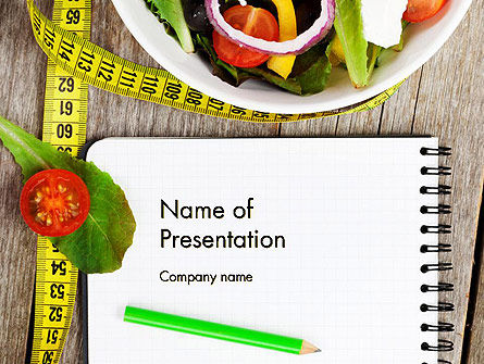 Vegetable Diet PowerPoint Template, 14139, General — PoweredTemplate.com