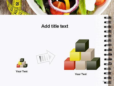 Vegetable Diet PowerPoint Template Slide 13