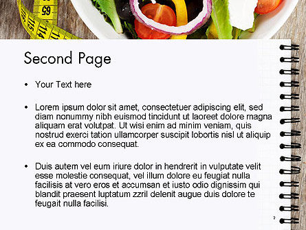 Vegetable Diet PowerPoint Template, Slide 2, 14139, General — PoweredTemplate.com
