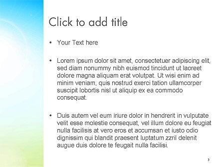 Glittering Sky Abstract PowerPoint Template, Slide 3, 14141, Nature & Environment — PoweredTemplate.com