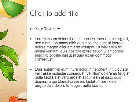 Happy Summer Holidays PowerPoint Template, Slide 3, 14142, Holiday/Special Occasion — PoweredTemplate.com
