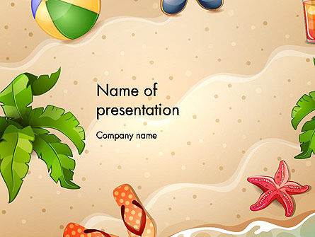 Happy Summer Holidays PowerPoint Template