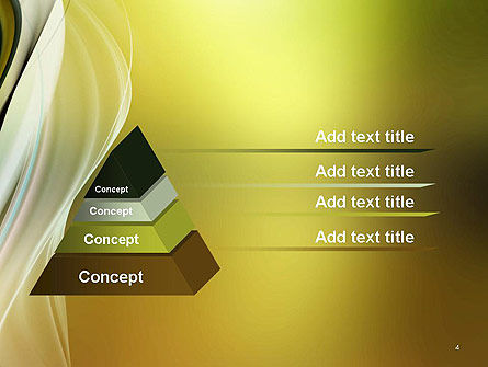 Smooth and Blur PowerPoint Template, Slide 4, 14145, Abstract/Textures — PoweredTemplate.com