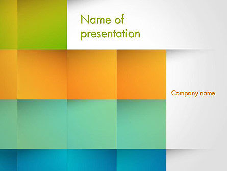 Shades of Colors Abstract PowerPoint Template, 14147, Abstract/Textures — PoweredTemplate.com