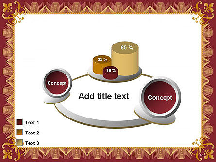 Certificate of Achievement Frame PowerPoint Template Slide 16